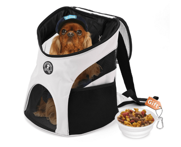 Dog Backpack Shoulder Puppy Pack Outdoor Travel Carrier