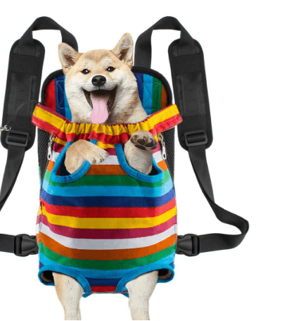 Vekesen Legs- and Tail-Out Dog Carrier & Pet Backpack