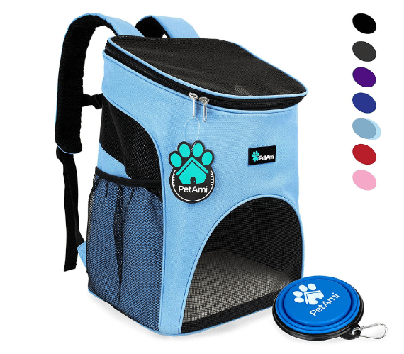 Pet Carrier Backpack for Small Cats and Dogs