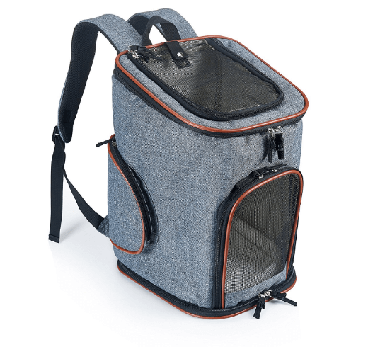 Pet Carrier Backpack for Small Dogs and Cats by Pawfect Pets