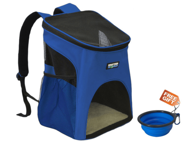 Pet Carrier Backpack for Small Dogs