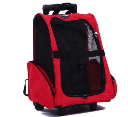 Pet Carrier Travel Backpack trolley for Dogs and Cats