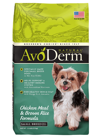 AvoDerm Natural Small Breed Adult Dry Dog Food