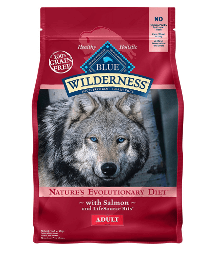 BLUE Wilderness Adult Grain Free Salmon Dry Dog Food