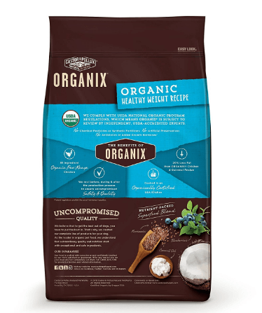 Castor & Pollux Organix Organic Healthy Weight Recipe
