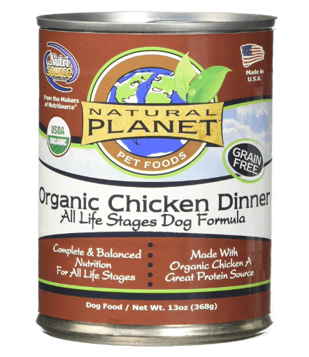 Chicken Wet Dog Food