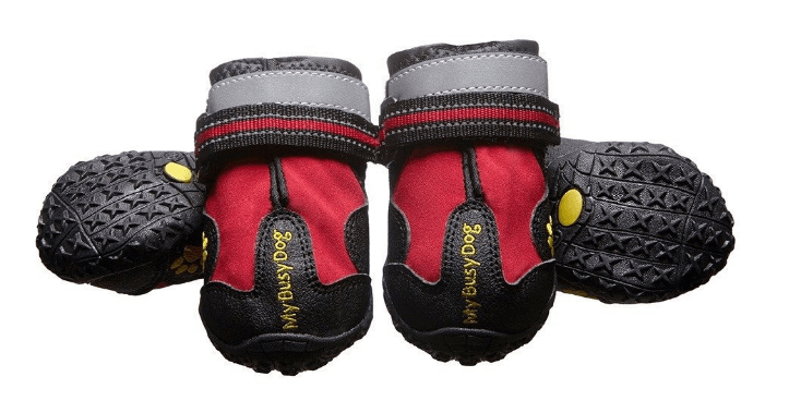My Busy Dog Water Resistant Dog Shoes with Reflective