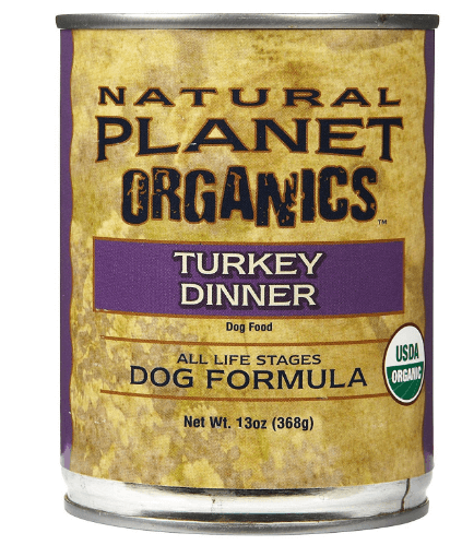 Natural Planet Organics Canned Turkey Dog Food
