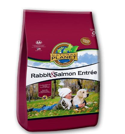 Natural Planet Organics Rabbit & Salmon Entree Dry Dog Food