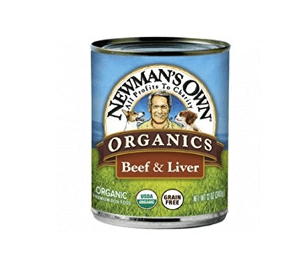 Newman's Own Organics Beef and Liver Grain-Free for Dogs