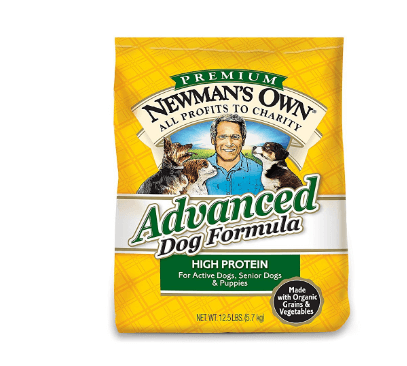 Newmans Own Advanced Dog Formula for Active or Senior Dogs