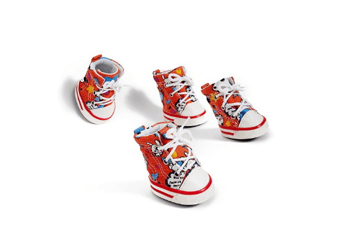 Nothing But Love Pets Small to Medium Dog Canvas Shoes