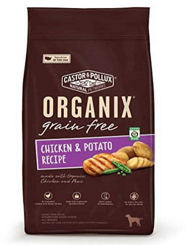 Organix Grain Free Chicken Potato Recipe