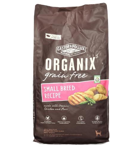 Organix Small Breed Recipe Dry Dog Food