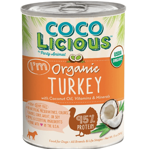 Party Animal Cocolicious Organic Turkey