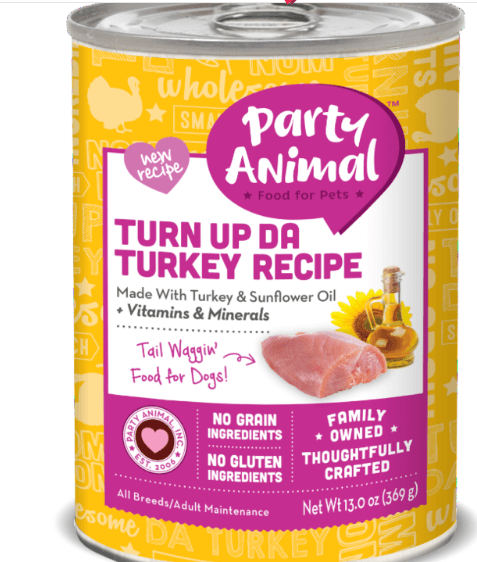Party Animal Organic Gourmet Canned Dog Food