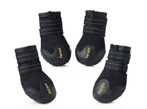 Petacc Dog Boots Breathable Shoes for Large Dogs