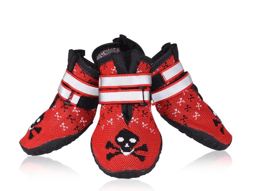 Petacc Dog Paws Protector Waterproof Dog Shoes Weave Dog Boots