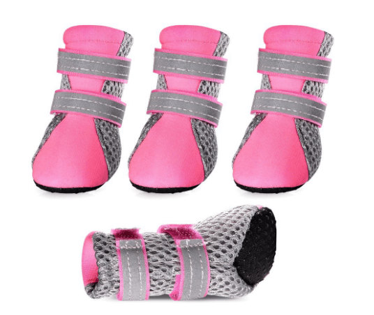 Petsee Dog Shoes Pet Boots with Non-slip Soft Sole