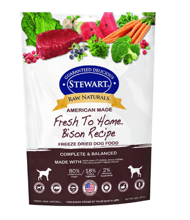 Stewart Raw Naturals Fresh To Home Freeze Dried Dog Food