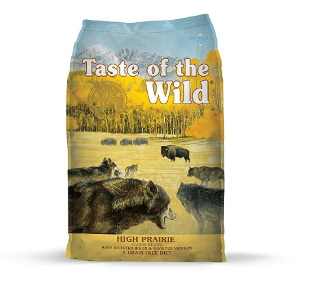 Taste of the Wild High Prairie Grain Free High Protein Real Meat Recipe Natural Dry Dog Food