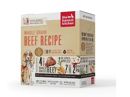 The Honest Kitchen Whole Grain Beef Dog Food
