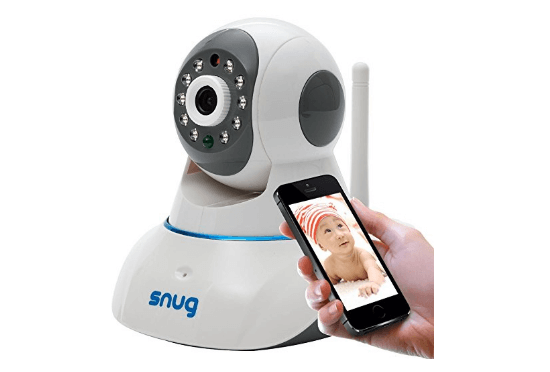 Snug baby dog video monitor camera