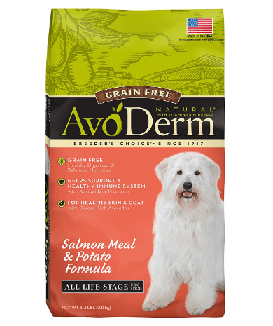 AvoDerm Natural Grain Free Dry Dog Food