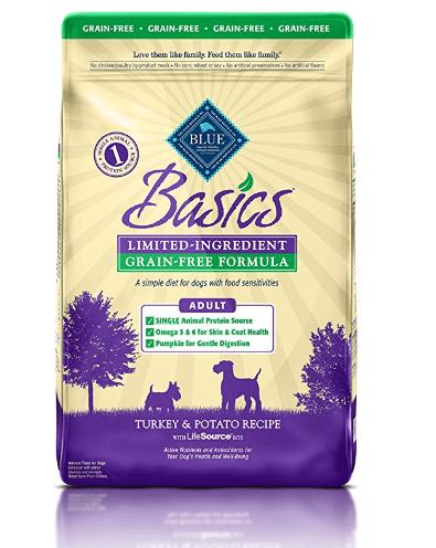 BLUE Basics Limited-Ingredient Formula Adult Dry Dog Food