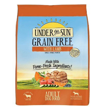 CANIDAE Under the Sun Grain Free Large Breed Adult Dog Food with lamb