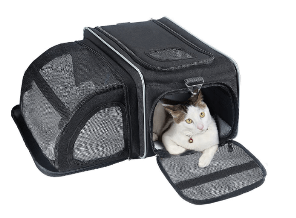 Cat Carrier, Fypo Soft Sided Airline Approved Pet Carriers Expandable