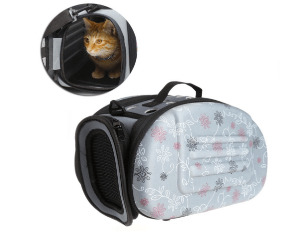 Deboc Portable Pet Small Dog Cat Sided Carrier