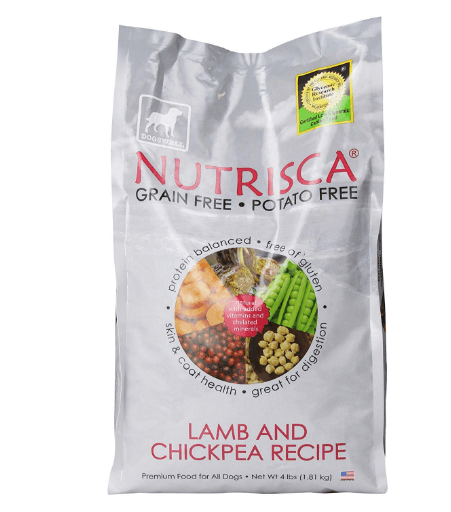 Dogswell Nutrisca Dog Food, Lamb and Chickpea