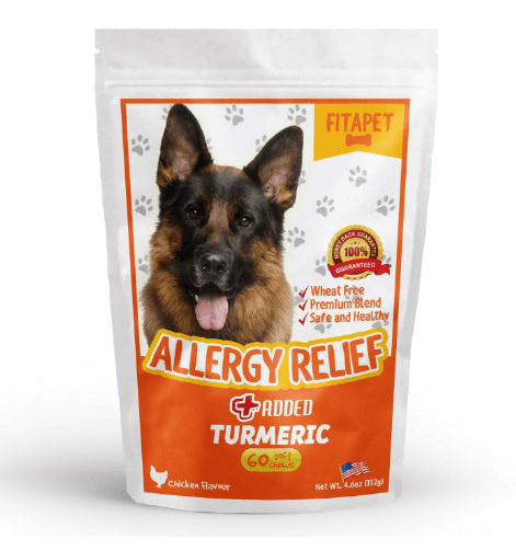 Fitapet Allergy Relief for Itchy Dogs