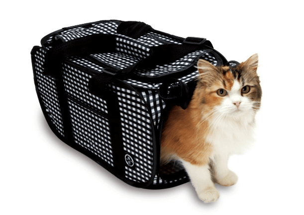 Foldable Ultra Light Cat Carrier with Cat-in-the-net