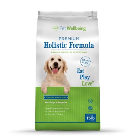 Grain Free Dog Food - Veterinary Formulated Holistic Dog Food