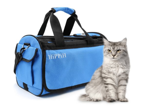 HIPPIH Premium Pet Travel Carrier for Dogs and Cats