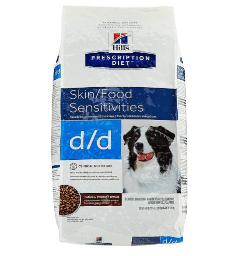 Hills Prescription Diet dd Canine Skin Support Potato Venison