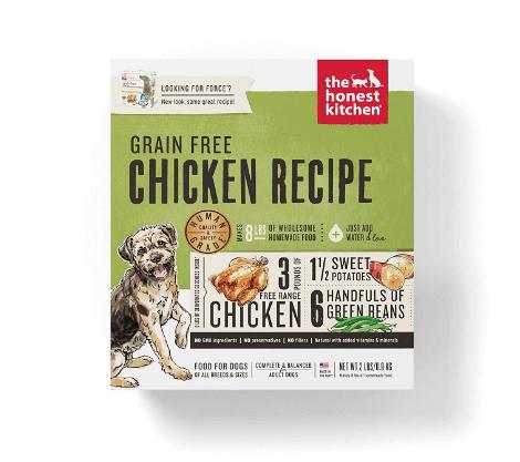 Honest Kitchen The Human Grade Dehydrated Grain Free Chicken Dog Food