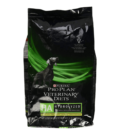 Hypoallergenic purine vegetarian dog food (highly digestible)