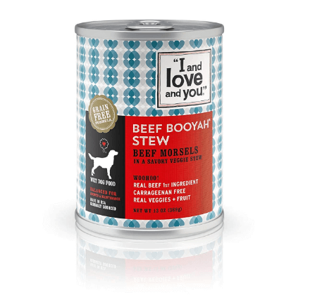 I and love and you Beef Booyah Stew Grain Free Canned Dog Food