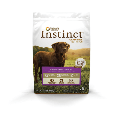 Instinct Original Grain Free Rabbit Meal Formula Natural Dry Dog Food