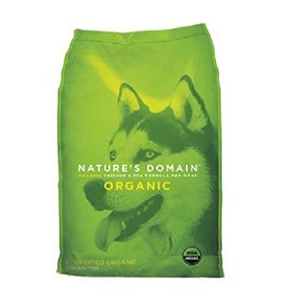 Kirkland Signature Nature Domain USDA Organic Chicken & Pea Formula Dry Dog Food