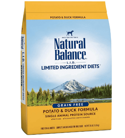 Limited Ingredient Diets Dry Dog Food, Grain Free, Potato & Duck Formula