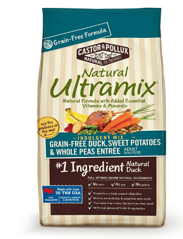 Natural Ultramix Grain Free Duck, Sweet Potatoes and Whole Peas Entrée Dry Dog Food