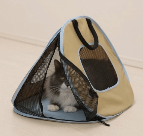 Necoichi Portable Ultra Light Cat Carrier With Zipper Lock