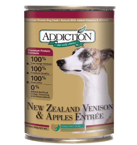 New Zealand Venison and Apples Entrée- Dog Food