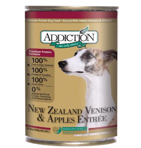 New Zealand Venison and Apples Entrée- Dog Food