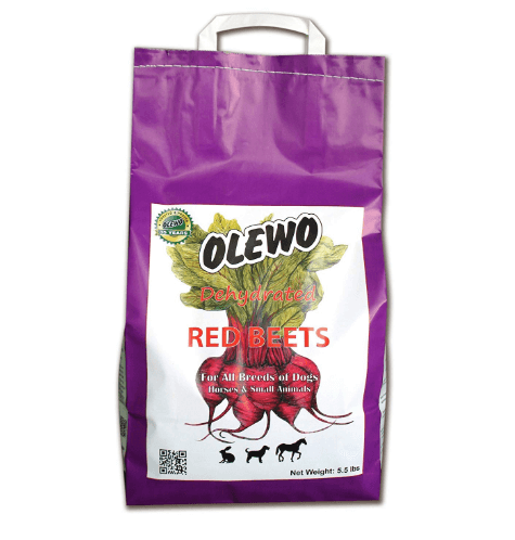 Olewo Red Beets Allergy Dog Food Supplement, controls dog skin allergies