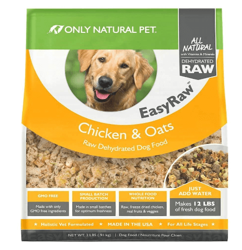 Only Natural Pet EasyRaw Human Grade Dehydrated Raw Dog Food